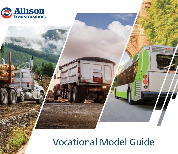 SA8720EN Allison Transmission 2021 Vocational Model Guide