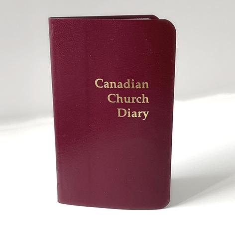 2022 Canadian Church Pocket Diary (Red)