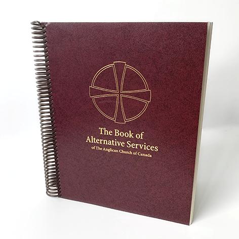 Book of Alternative Services - Altar / Presider, Coil Bound