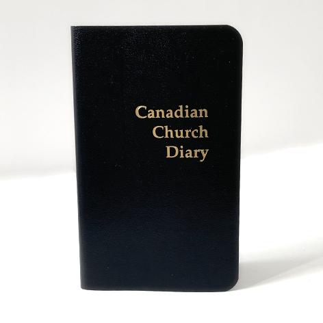 2021 Canadian Church Pocket Diary - Black
