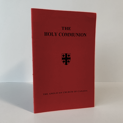 Holy Communion with the Collects, Epistles and Gospels, Large Print (from BCP)