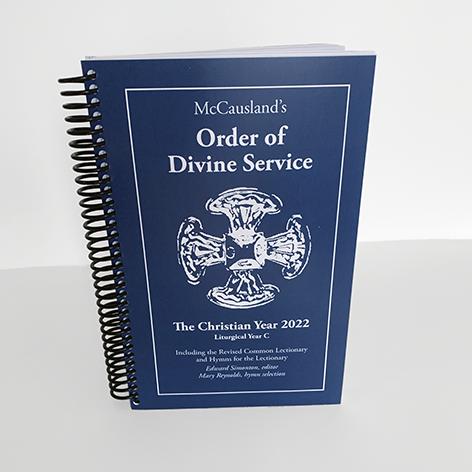 2022 McCausland's Order of Divine Service