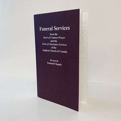 Funeral Services for use in Funeral Chapels (from BCP, BAS)