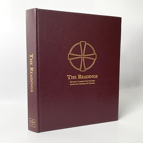 Readings, The: Revised Common Lectionary - Altar / Presider, Burgundy Leather