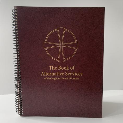 Book of Alternative Services (Large Print) - Part 1: Divine Office Baptism