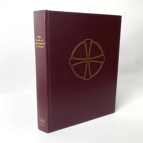 Book of Alternative Services - Altar/ Presider, Burgundy Leather