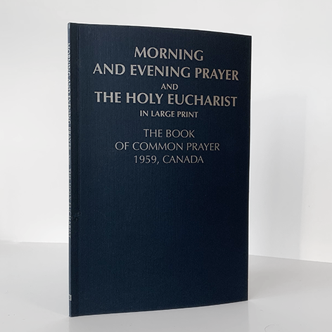 Morning & Evening Prayers, Large Print (from BCP)