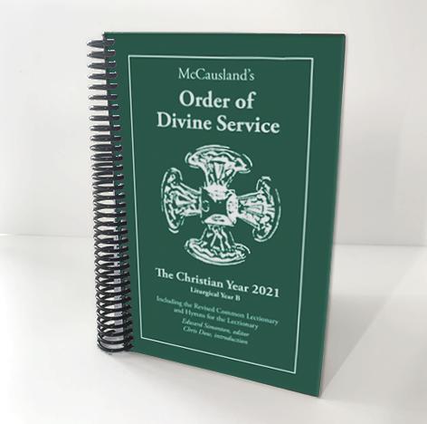 2021 McCausland's Order of Divine Service