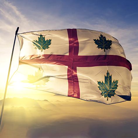 Anglican Church of Canada Flag