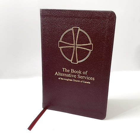 Book of Alternative Services Burgundy Leather / Pew Edition