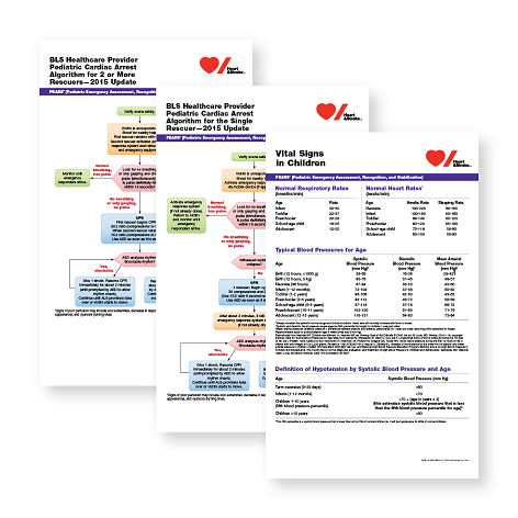 2015 PEDIATRIC ADVANCED LIFE SUPPORT POSTERS - English
