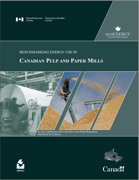 BENCHMARKING ENERGY USE IN CANADIAN PULP AND PAPER MILLS    (CD INCLUDED)