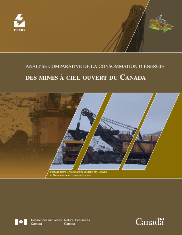 PEEIC ANALYSE COMPARATIVE DE LA CONSOMMATION D'ENERGIE DES  MINES A CIEL OUVERT DU CANADA
