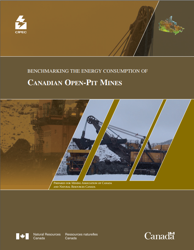BENCHMARKING THE ENERGY CONSUMPTION OF CANADIAN OPEN-PIT MINES