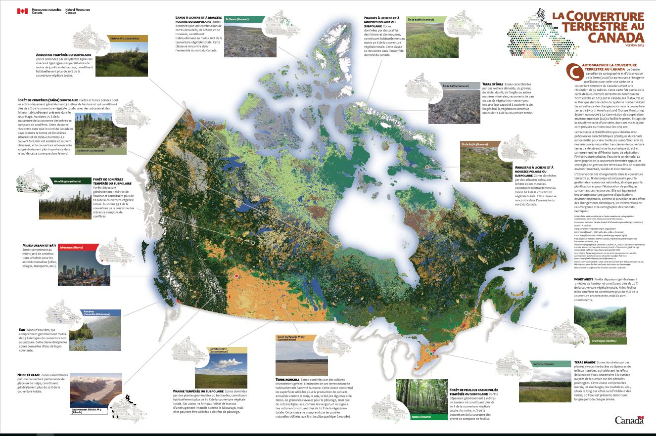 La couverture terrestre au Canada