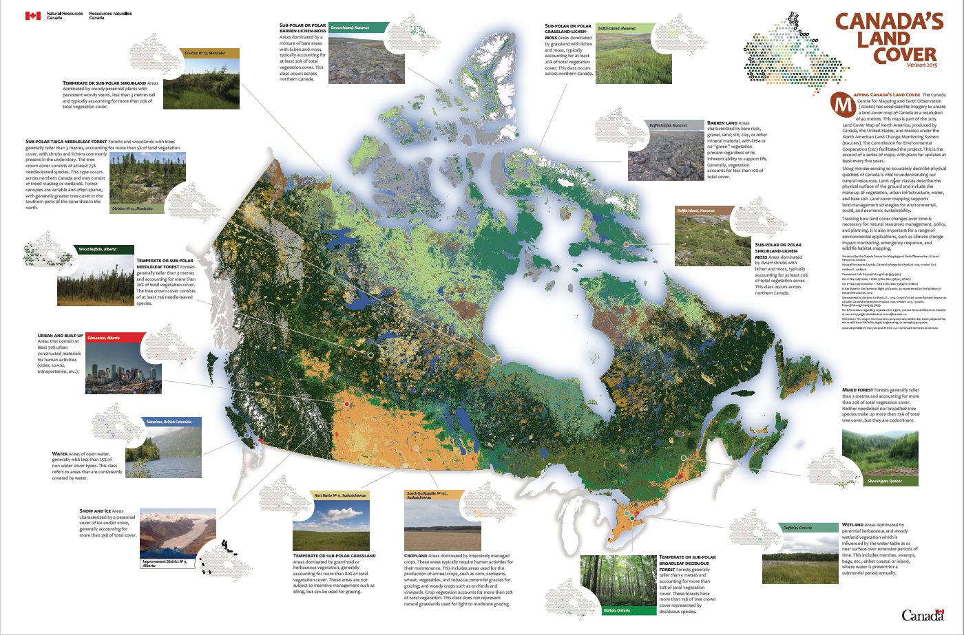 Canada's land cover