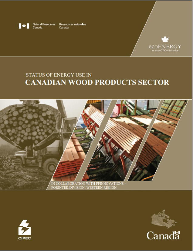 STATUS OF ENERGY USE IN CANADIAN WOOD PRODUCTS SECTOR