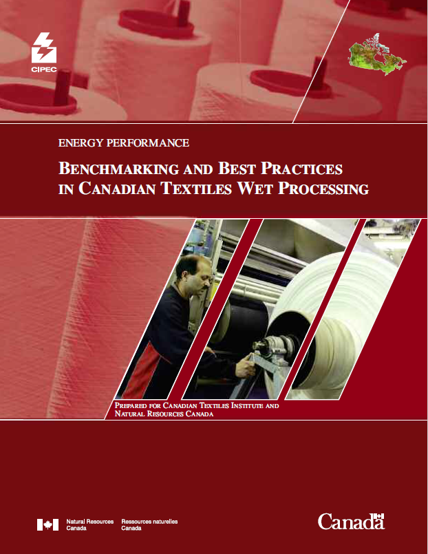 CIPEC ENERGY PERFORMANCE BENCHMARKING AND BEST PRACTICES IN CANADIAN TEXTILES WET PROCESSING