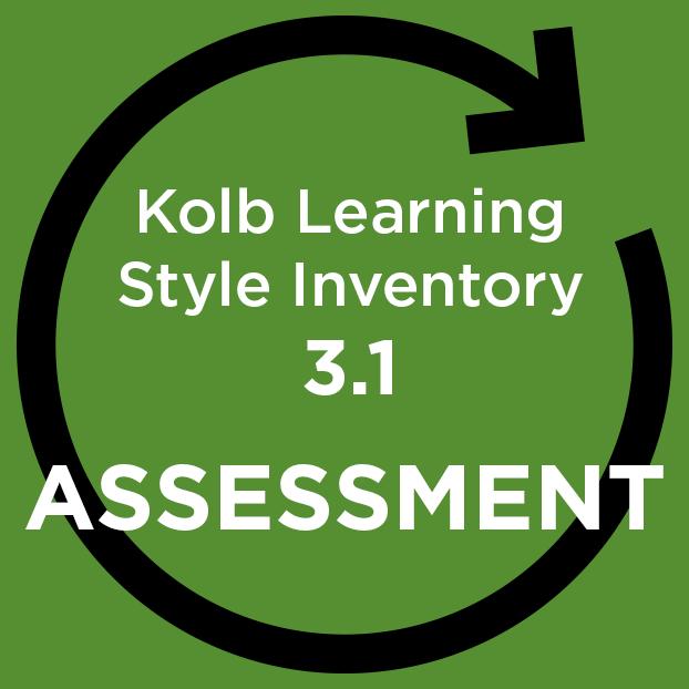 KOLB Learning Styles Inventory (KLSI) V3.1 - online