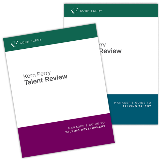 Korn Ferry Talent Review - Manager's Guide to Talking Talent® & Manager's Guide to Talking Development® - English (US)
