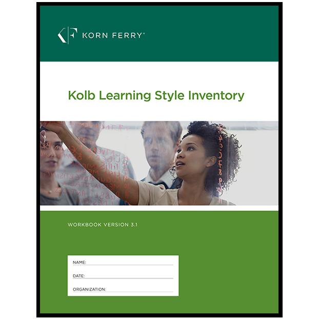 KOLB Learning Styles Inventory (KLSI) Workbook V3.1 ENG