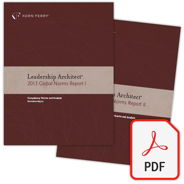 Leadership Architect® 2013 Global Norms (PDF)