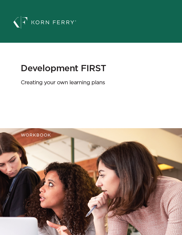 Development First Workbook: Creating Your Own Learning Plan