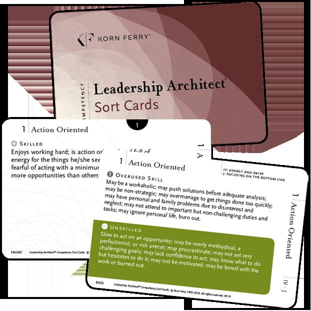 Leadership Architect® Sort Card Deck 5th Edition—English