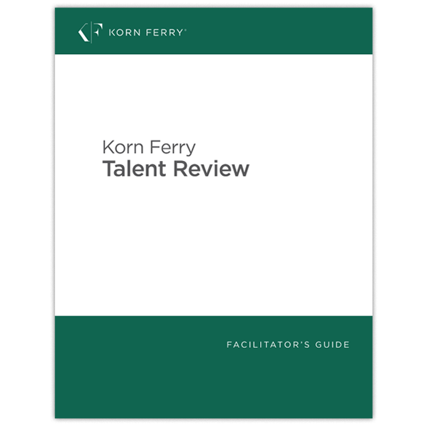 Korn Ferry Talent Review Facilitator's Guide - English (US)