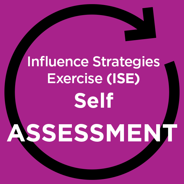 Influence Strategies Exercise (ISE) online - Self-Assessment