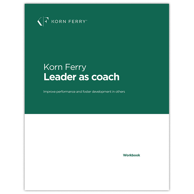 Leader as Coach Workbook